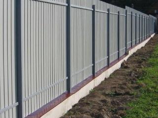 Забор на ленточном фундаменте Уфа цена от 7385 руб.