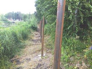 Забор из профнастила Уфа - цены с установкой под ключ от 1161 руб.