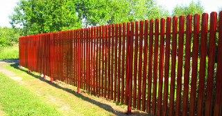 Забор для дачи Уфа цена от 1266 руб.