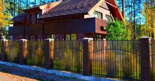 Забор для дома Уфа цена от 1583 руб.