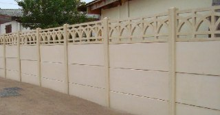 Бетонный забор под ключ Уфа цена от 2216 руб.