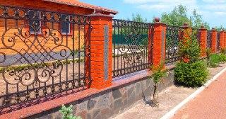 Кованые заборы Уфа цена от 3355 руб.