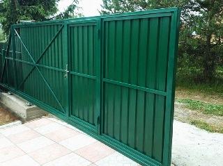 Ворота под ключ Уфа цена 8229 руб.