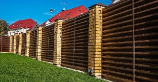 Забор жалюзи Уфа цена от 3165 руб.